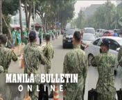 Supporters of Davao City Mayor Sara Duterte-Carpio were blocked by policemen at the Cultural Center of the Philippines (CCP) Complex in Pasay City. <br/><br/>Supporters are still hoping that the presidential daughter would change her mind and run for president. (Manny Llanes)